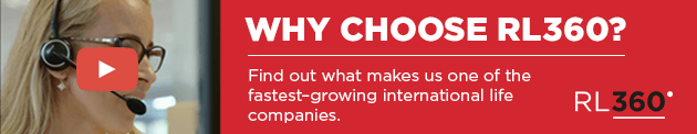 Why choose RL360? Find out what makes us one of the fastest-growing international life assurance companies.