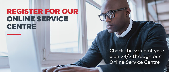 Register for our Online Service Centre (OSC)