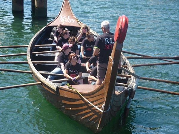 RL360° Viking Longboat team